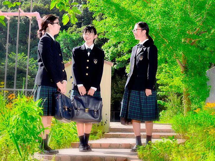 長崎精道中学校の制服(夏服・冬服)