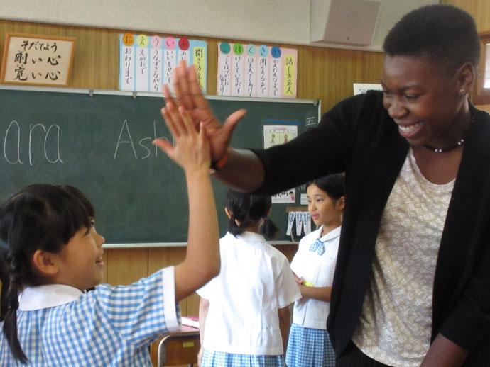 長崎精道小学校 英語教育