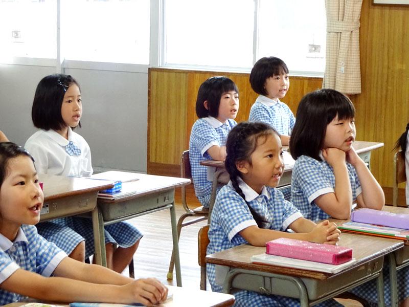 長崎精道小学校 授業風景