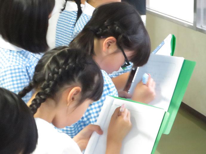 長崎精道小学校の一日