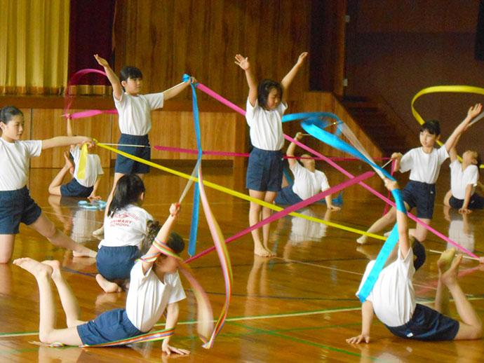 長崎精道小学校 新体操