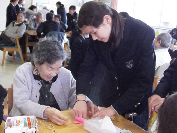 長崎精道中学校 ボランティア活動