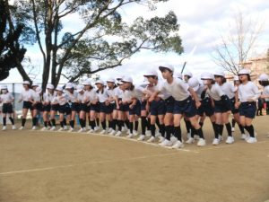 20161207-2小学校マラソンなわとび記録会