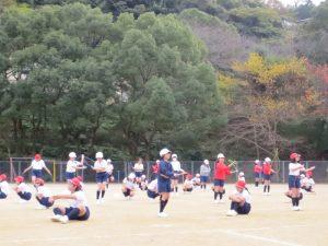 20161207-5小学校マラソンなわとび記録会