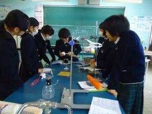 理科実験出前授業2
