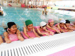長崎精道小学校 水泳教室