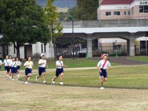 長崎精道中学校 駅伝大会