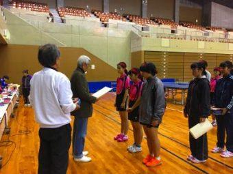 卓球部が九州大会へ-1
