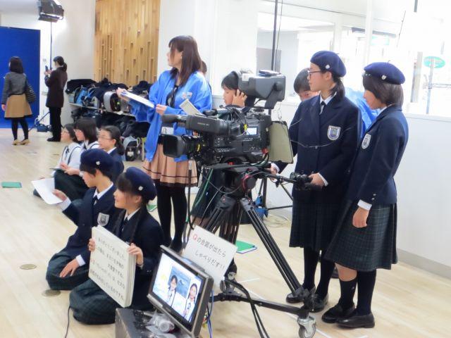 NHKで番組づくりにチャレンジ!