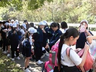 中学校 春の歓迎遠足2017
