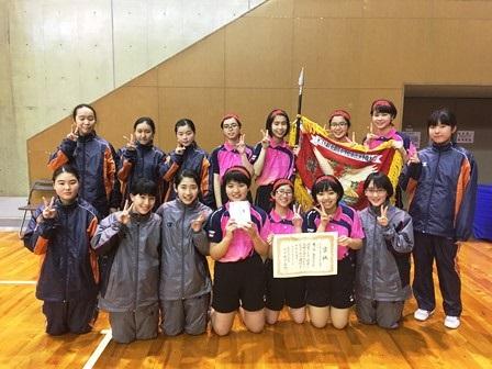 卓球部 KTN杯県大会優勝!20170329