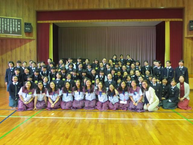 Woodrose-Seido Cultural Exchange Program 2017 フィリピンの姉妹校と国際交流