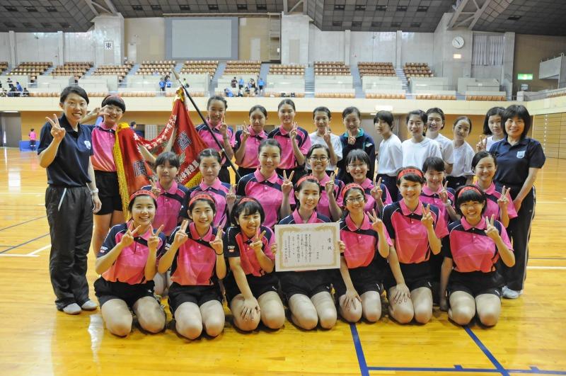 「おめでとう!中総体」 卓球 優勝、ソフトテニス ベスト8
