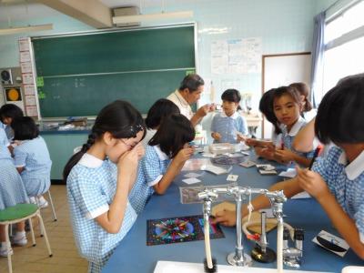 小4理科の出前体験授業 2017