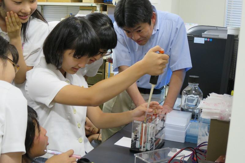 中3が長崎大学の医療研究所を見学 ~原爆後障害医療研究所