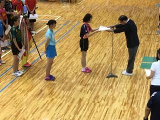 県中総体卓球部2017