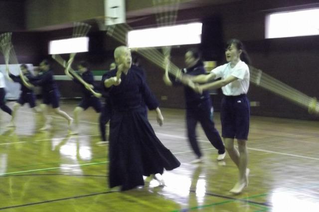剣道の授業2017
