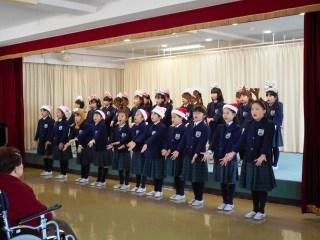恵みの丘原爆ホーム交流2017