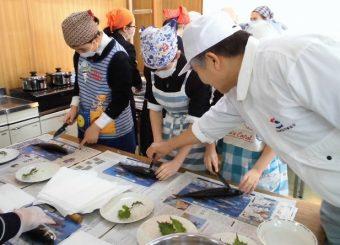 お魚調理講習会2017