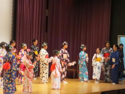 日舞クラブ体験発表会「交流の集い」2018