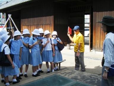 出島見学2018 小学5・6年生
