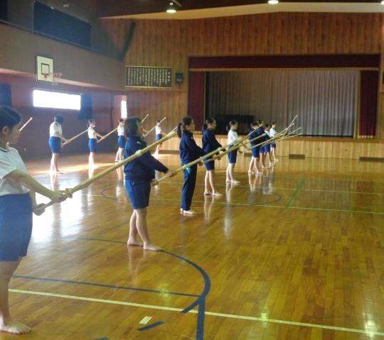 剣道の授業201811