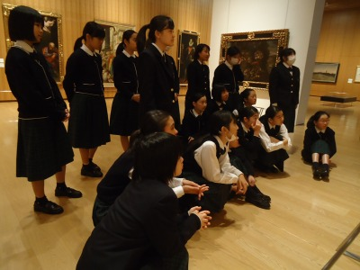 長崎県美術館で体験見学