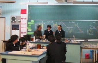 理科実験出前授業2018 中学1・2年生