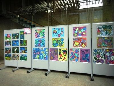 子ども作品合同展2019 県美術館
