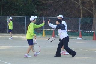 テニス部「初打ち会」2019