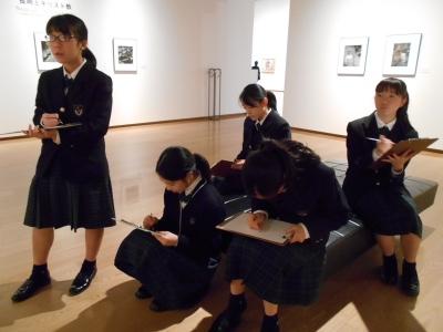 中学生美術館見学2019