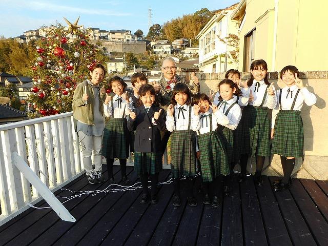 三原の丘にクリスマス・ツリー ~石原さんから頂いた喜び