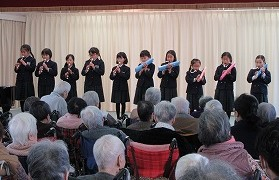 恵の丘 長崎原爆ホーム訪問2019