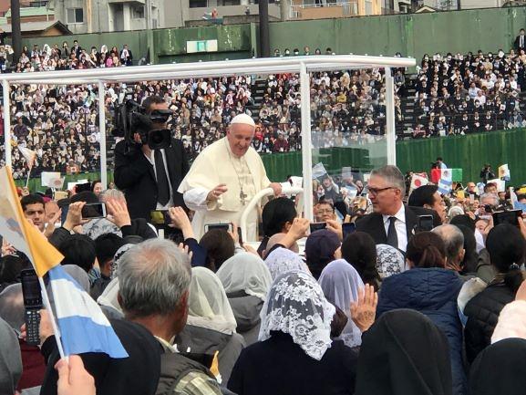教皇フランシスコ来日2019