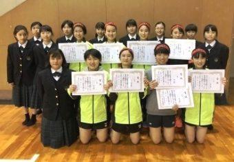 長崎市中総体新人戦 団体優勝20191206