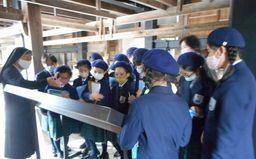 社会科見学で外海「出津文化村」へ