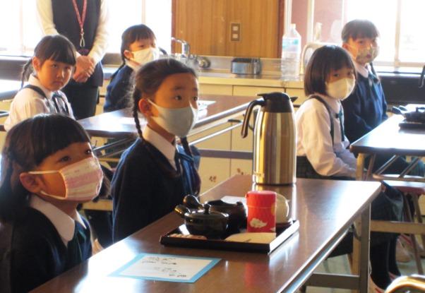 小1お茶教室2020